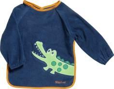 Playshoes 507136 Ärmel-Lätzchen Langarm, Krokodil, mehrfarbig, mehrfarbig, Einheitsgröße