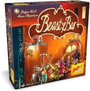 Zoch 601105155 - Beasty Bar - Das charakterstarke Kartenspiel mit XXL-Karten in neuer Schachtelgröße, ab 8 Jahren