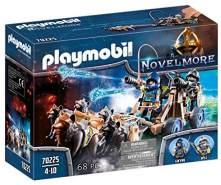 PLAYMOBIL Novelmore 70225 Novelmore Wolfsgespann und Wasserkanone, für Kinder von 4 - 10 Jahren