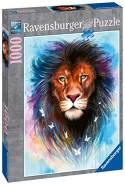 Ravensburger Puzzle 13981 - Majestätischer Löwe - 1000 Teile