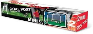 Mondo 18014 - 2 Mini Goal Post Set, 2 Tore 91,5 x 63 com und Mini-Ball