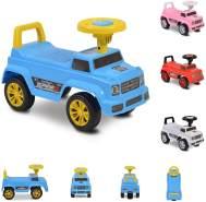 Moni Rutschauto Kinderauto Speed JY-Z12 Musikfunktion, ab 18 Monaten, max. 25 kg blau