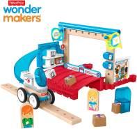 Fisher-Price GFJ14 - Wunder Werker Holzspielzeug Post Spielset aus FSC zertifiziertem Holz, Spielzeug ab 3 Jahren