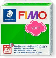 STAEDTLER FIMO soft 8020 - Materialpack á 57 g, tropischgrün