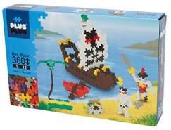 Plus-Plus 9603729 Geniales Konstruktionsspielzeug, Basic, Piraten, Bausteine-Set, 360 Teile