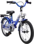 Kinderfahrrad Bikestar 16 Zoll - Classic Champion Silber &.