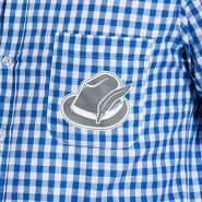 Folat 63369 Oktoberfest Hemd, XL/XXL, blau