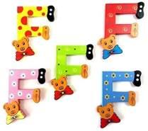 Brink Holzspielzeug Buchstabe: 'F' - 1 Stück, zufällige Auswahl, keine Vorauswahl möglich