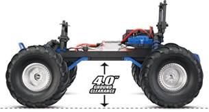 Traxxas Bigfoot 1/10 Monster Truck XL-5 (TQ/8.4V/DC Chg) blau