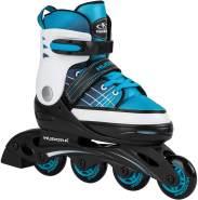 Kinder Inline Skates Basic, blue, Gr. 30-33