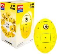 Geomag KOR 2. 0 Egg Magnet Konstruktion - Farbe: Gelb