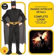 Rubie's 3 880671 XL - Deluxe Batman Erwachsene Kostüm, Größe XL