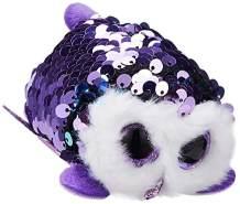 TY Moonlight Owl Plüschtier Mehrfarbig One Size, 5 x 11 x 7cm Approx.