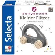 Selecta 64004 Kleiner Flitzer, Greifling - Bellybutton, Grau, 10 cm