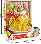 Hape E3165 Verrückte Spaghetti Zubehör für Kinderküchen und Kaufmannsladen, ab 3 Jahren