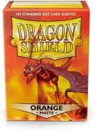 Arcane Tinmen ApS ART11113 Nein Dragon Shield: Matte Orange (60 Stück)
