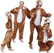 Boland 88209 Kinderkostüm Tiger aus Plüsch, 140