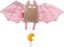sigikid, Mädchen, Spieluhr, Fledermaus, Urban Baby, Rosa, 42350
