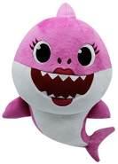 Baby Shark Plüsch mit Sound - Mommy Shark
