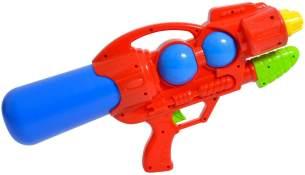 Wasserpistole mit Pumpe Wassergewehr Rot Grün rot