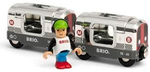 BRIO Bahn 33838 - Silberne U-Bahn (Special Edition 2020)