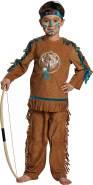 Mottoland Kinder Indianer Junge Kostüm Fasching Karneval Halloween Kinderkostüm : Größe: 152