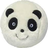 Sunflex Fluffyball Paul Panda Plüschball 15 cm zum kuscheln, Spielen und sammeln
