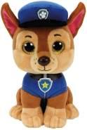 TY 96319 Shepherd Dog Aladdin Paw Patrol, Chase 24cm, braun