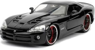 Jada 253203057 Letty's Dodge Viper SRT-10 schwarz - Fast & Furious Maßstab 1:24