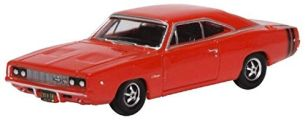 Oxford 87DC68001 kompatibel mit Dodge Charger rot Maßstab 1:87