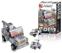 Sluban slubanm38-b0537 C-in Rocket Launcher Building Bricks Set