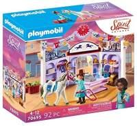 Playmobil Spirit Riding Free 70695 'Miradero Reitladen', 92 Teile, ab 4 Jahren