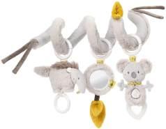 Fehn 064100 Activity-Spirale Australia – Stoff-Spirale zum Greifen und Fühlen – Für Babys und Kleinkinder ab 0+ Monaten – Maße: 30 cm