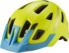 Cratoni Maxster Pro Kinder - gelb-blau XS/S (46-51cm)