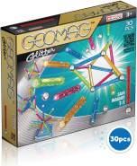 Geomag, Classic Glitter 531, Magnetkonstruktionen und Lernspiele, 30-teilig