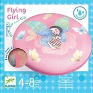 DJECO Motorik Spiele: Flying disc: Wurfscheibe: Flying Girl