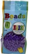 Nabbi Schmelzperlen aus Kunststoff, Plastik, violett, 1100-Piece