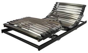 Perbix XXL Exclusiv Lattenrost mit Flat-Motor OF12 bis 160 kg, 100x200 cm