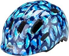 ABUS Fahrradhelm Smiley 2. 0 Kinder - blue car - 50-55 cm