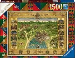 Ravensburger 'Hogwarts Karte' Puzzle 1500 Teile