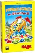 HABA 305297 - Funkelschatz – Das Drachen-Ei, Sammelspiel ab 6 Jahren; neue Spielvariante kombinierbar mit Funkelschatz, dem Spiel des Jahres 2018