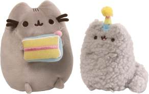 GUND 4059126 - Pusheen Birthday Set Plüschtier