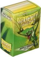 Dragon Shield Matte, Apfel Grün / Apple Green Kartenfolien Kartenhüllen Sleeves - für Sammelkarten wie Pokemon Magic - Standardgröße