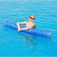 Out of the Blue Aufblasbare Pool Stange mit Glitter - 1x Stück, zufällige Auswahl