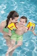 Bestway Fisher-Price Premium Schwimmflügel, mit Textilbezug, sortiert