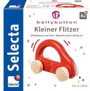 Selecta 64007 Kleiner Flitzer, Greifling - bellybutton, rot, 10 cm