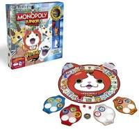Hasbro Spiele B6494100 - Yo-kai Watch Monopoly Junior, Familienspiel - DEUTSCH