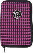 BULL'S TP Premium Dartcase pink/schwarz