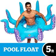 BigMouth Toys Big Mouth Float Octopus, Mehrfarbig