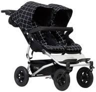 Mountain Buggy DUET V3-59 Grid Kinderwagen, doppelseitig, mit 4 Rädern
